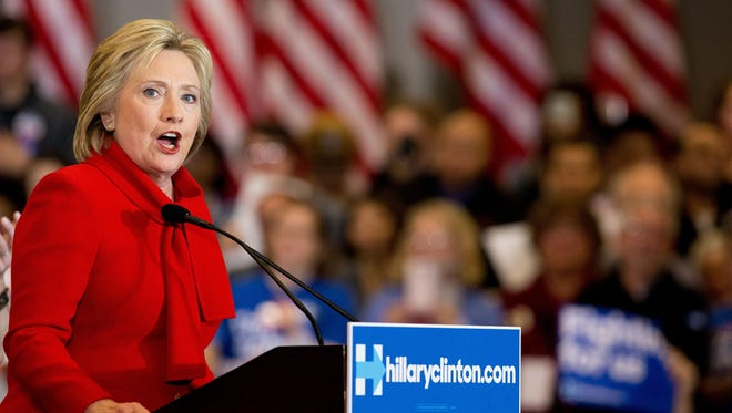 Democratic presidential candidate Hillary Clinton won the Mississippi primary Tuesday.