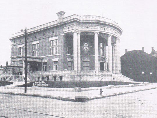 The Elks Home in Downtown Evansville circa 1910.