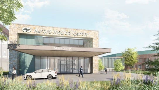 Aurora Health Care unveiled a conceptual design for a hospital in Kohler on Nov. 9.