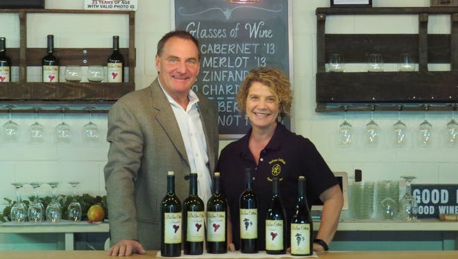 Dennis and Marliese Graham are the owners of DeLiese Cellars, which opened a tasting room in Thousand Oaks in late December.