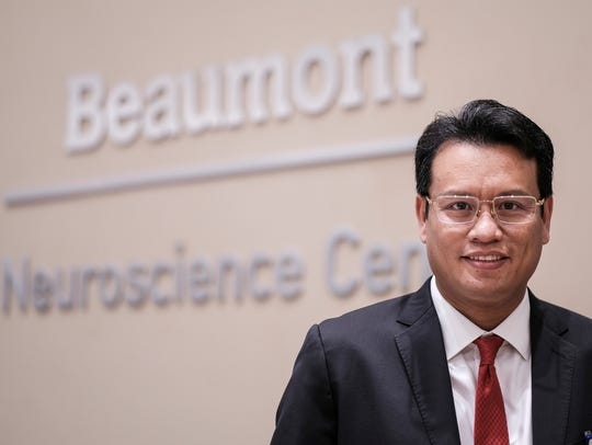 Dr. Kongkrit Chaiyasate poses for a portrait at Beaumont