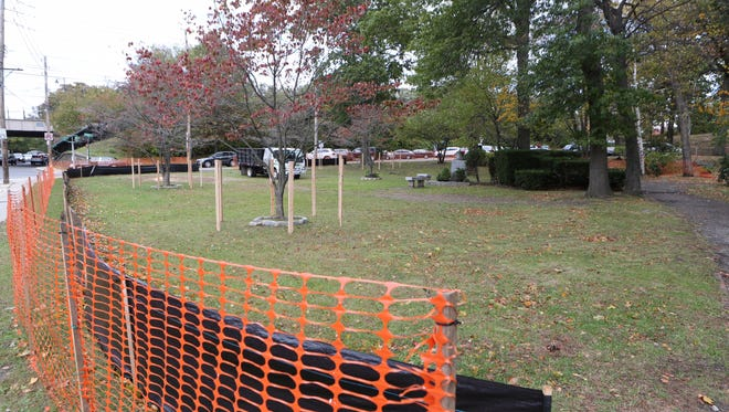 Pelham received a $647,000 state Dormitory Authority grant to renovate Wolfs Lane Park, pictured Oct. 28, 2016.