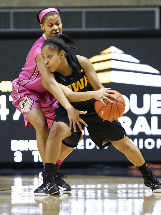 LAF Purdue women vs Iowa
