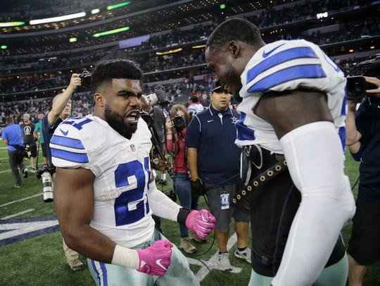Dallas Cowboys running back Ezekiel Elliott has been