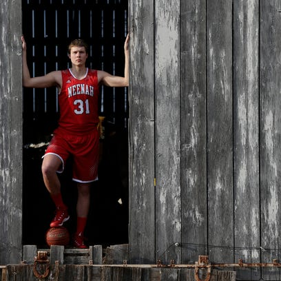 Neenah's Matt Heldt is Post-Crescent Media's boys' basketball player of the year. He will play in college at Marquette University.