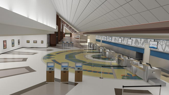 Construction for a more modern look may begin this summer at Tallahassee Airport.