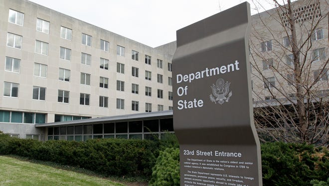The State Department in Washington.
