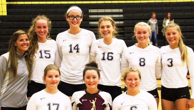 The Charyl Stockwell volleyball team won its first 20 games of the season and is ranked No. 1 in Class C.