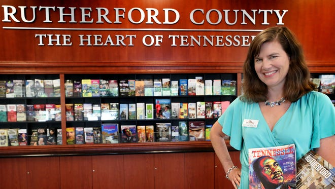 Ginna Foster Cannon is director of cultural and heritage tourism, a new post within the Rutherford County Convention & Visitors Bureau.