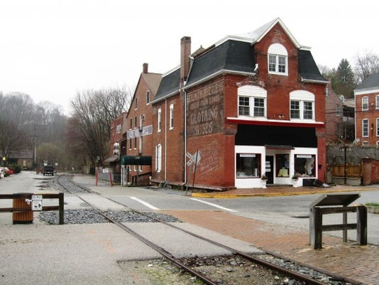 Another view of the mill, which is now  a popular restaurant along the old tracks of the Northern Central Railway. (Scott Mingus photo)