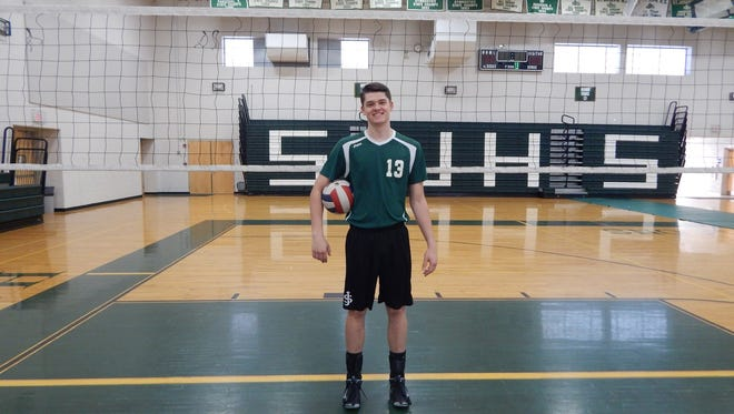 St. Joseph High School's Dan Young is MyCentralJersey.com's Readers' Choice Volleyball Player of the Year