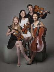 The Ulysses Quartet will play Saturday at Cornell.