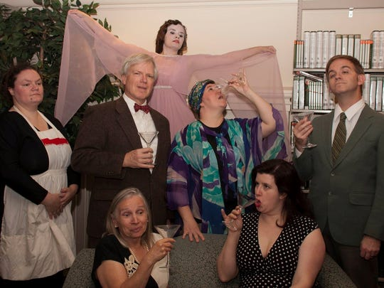 "The Essex Community Players present ""Blithe Spirit"" starting tonight."