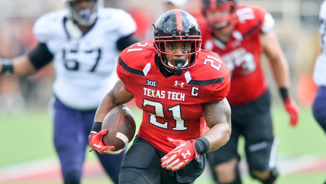 DeAndre Washington got the ball moving downfield as Texas Tech attempted to beat TCU on the final play of the game Saturday.
