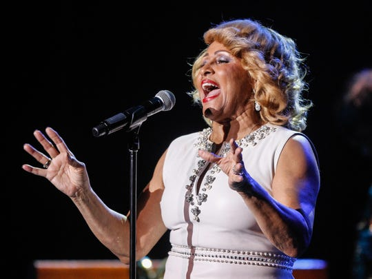 Darlene Love, shown performing at the Count Basie Theatre
