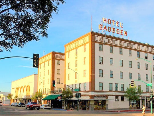 The Gadsden Hotel has been an anchor of downtown Douglas