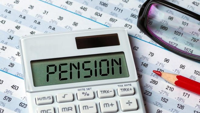 Taxpayers are contributing far more for government employees' pensions than the employees themselves.