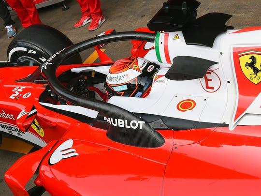 Show Different Views Of Ferrari Sports Car