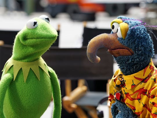 Kermit the Frog and Gonzo the Great are among Muppets