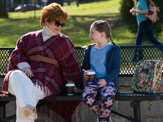"""This image released by Universal Studios shows Melissa McCarthy, left, and Ella Anderson in a scene from, """"The Boss."""" (Hopper Stone/Universal Studios via AP)"""