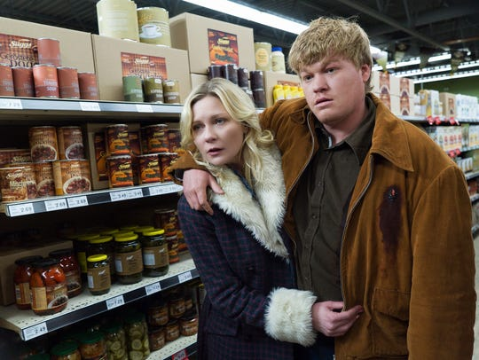 Kirsten Dunst, left, and Jesse Plemons starred in Season