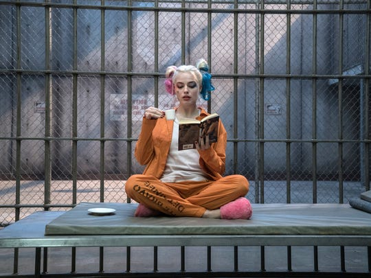 "Margot Robbie in a scene from ""Suicide Squad."""