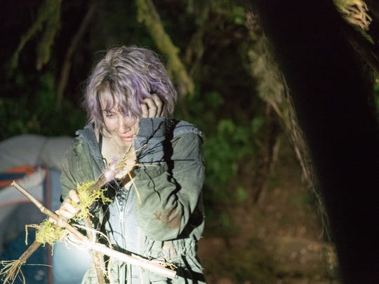 """Valorie Curry as Talia in """"Blair Witch."""" The movie"""