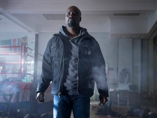 Mike Colter stars as the central superhero of 'Luke Cage.'
