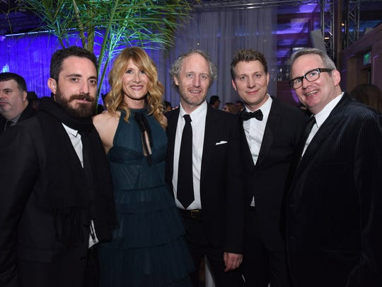 Director Pablo Larrain, actress Laura Dern, recording artist Mike Mills and director Jeff Nichols attend the 28th Annual Palm Springs International Film Festival at Parker Palm Springs on January 2, 2017 in Palm Springs, California.