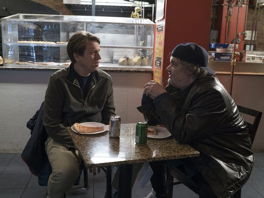 "Pete Holmes and Artie Lange in new HBO series ""Crashing."""