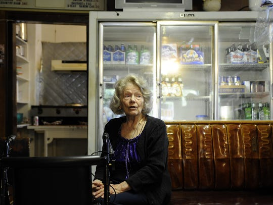 Arline Marino, the former owner of Marino's Lunch.
