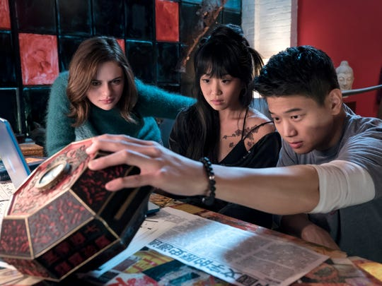 From left, Joey King stars as Claire, Alice Lee as