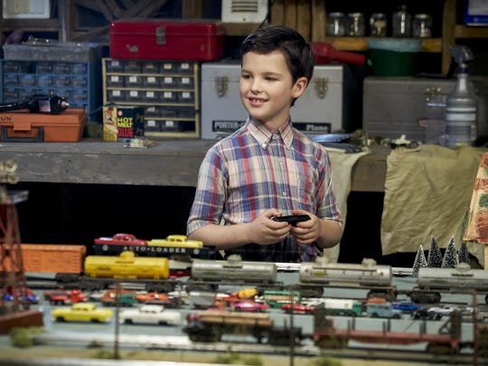 "This image released by CBS shows Iain Armitage in a scene from ""Young Sheldon,"" premiering Sept. 25 on CBS."