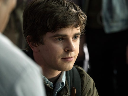 "Freddie Highmore returns to TV in ""The Good Doctor."""