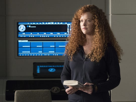 Mary Wiseman as Sylvia Tilly in 'Star Trek: Discovery.' She's appeared on  'Baskets' and 'Longmire.'