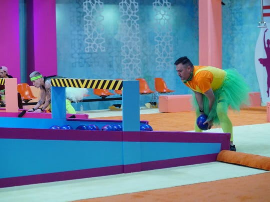 "Ross Mathews plays the HOH Competition ""Bowlerina"" on Sunday, February 11, 2018 on the first-ever celebrity edition of ""Big Brother"" on CBS."