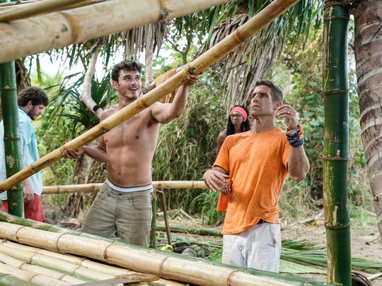 "Knoxville native Michael Yerger and Brendan Shapiro work together on ""Survivor: Ghost Island."""