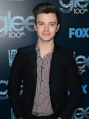 """Chris Colfer attends Fox's """"GLEE"""" 100th Episode Celebration held at Chateau Marmont on March 18, 2014 in Los Angeles, California."""