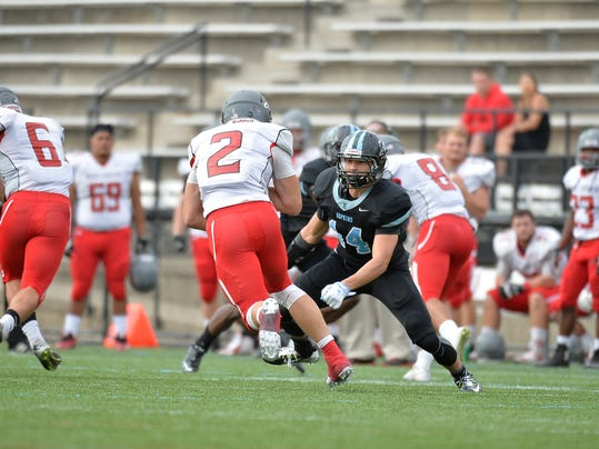 Freshman Addison Quinones ranks fifth on the Johns Hopkins football team in total tackles with 27 and has made at least three tackles in every game this season for the undefeated Blue Jays. The Dallastown graduate also is a key performer on special teams.