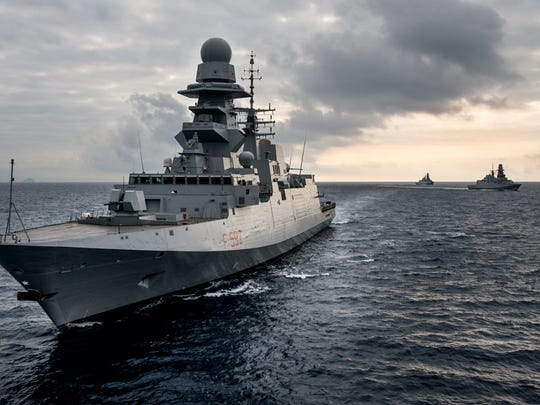 The FREMM frigate by Italy's Fincantieri is one leading contender to become America's next U.S. Navy frigate.