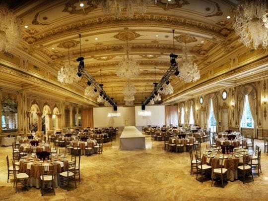 The lavish Mar-a-Lago ballroom that Trump built at