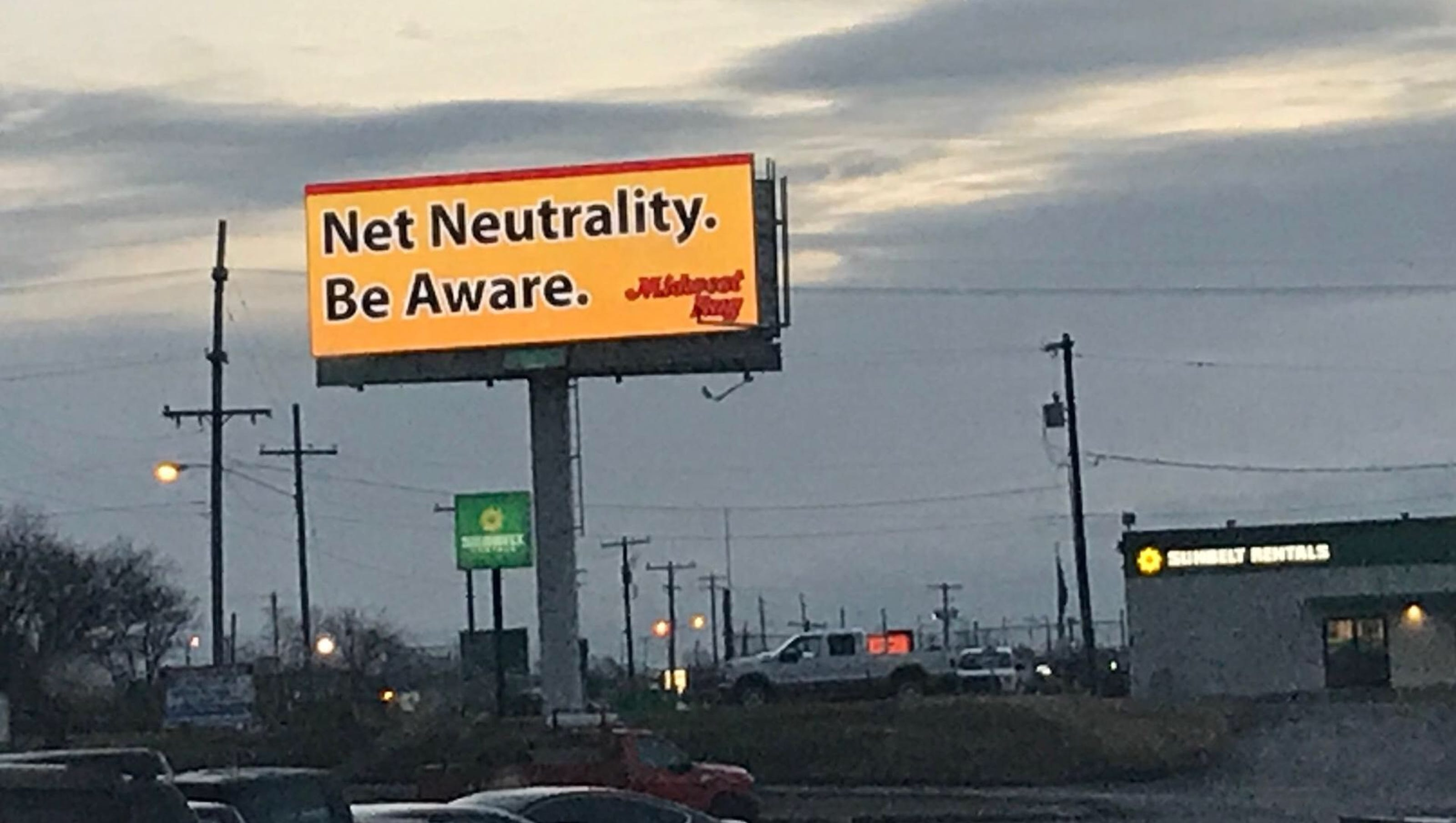 Springfield Floor Covering Company Puts Up Billboards About Net
