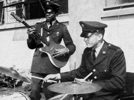 "Pvt. James ""Jimi"" Hendrix of 3rd Battalion, 187th Infantry"