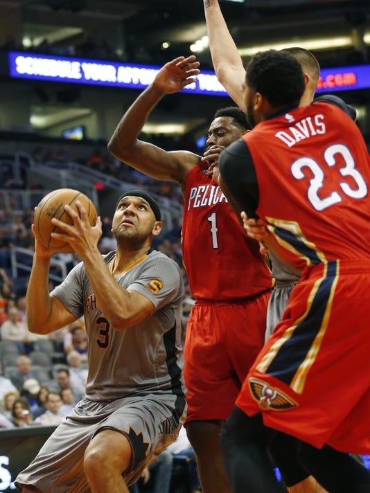 Pelicans vs Suns