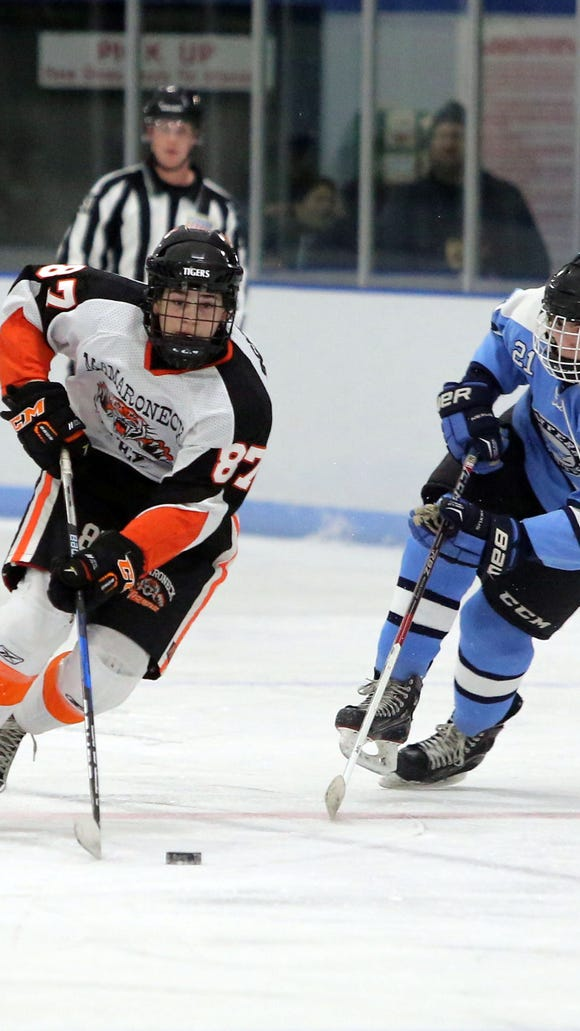 Harrison Schreiber opened the season with a hat trick against Bethlehem.