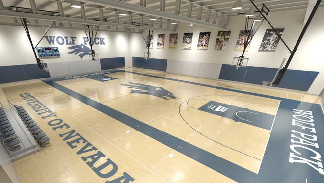 An artist rendering of the Ramon Sessions Basketball Performance Center. The renderings are conceptual only and will be finalized in the coming weeks.