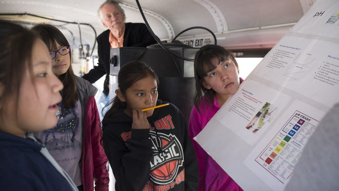 How A Purple School Bus Brings Clean Drinking Water To Navajo Nation