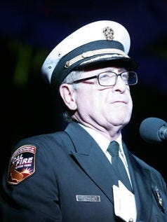 This Desert Sun file photo shows John Hawkins, who was removed from his position as Riverside County Fire Chief over the weekend.