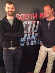 Matt Stone and Trey Parker, co-creators of 'South Park,'
