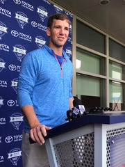 Giants quarterback Eli Manning is prepared to get his